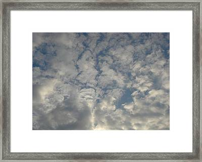Clouds Two Framed Print