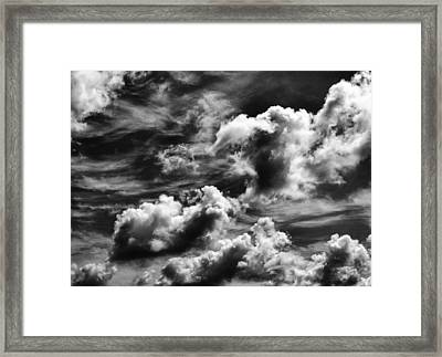 Cloudscape 3 Framed Print