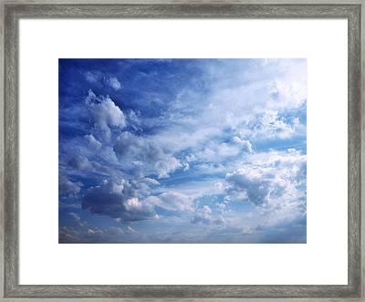 Cloudscape 5 Framed Print by Tom Druin