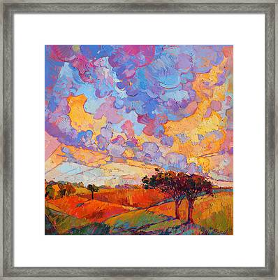Cloudscape Framed Print by Erin Hanson