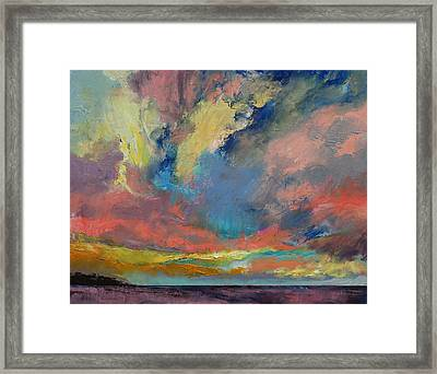 Cloudscape Framed Print by Michael Creese