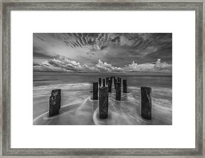 Cloudscape Framed Print by Mike Lang