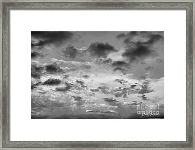 Cloudscape No. 5 Framed Print by David Gordon