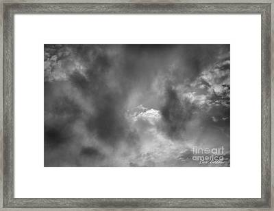 Cloudscape No. 6 Framed Print by David Gordon