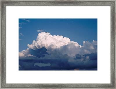 Cloudscape...six Framed Print by Tom Druin