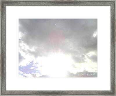 Cloudsshapes-1 Framed Print by Katerina Kostaki
