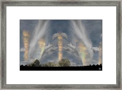 Cloudsweep Framed Print