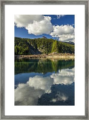 Cloudwork Framed Print