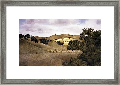 Cloudy Afternoon Framed Print by Tom Wooldridge