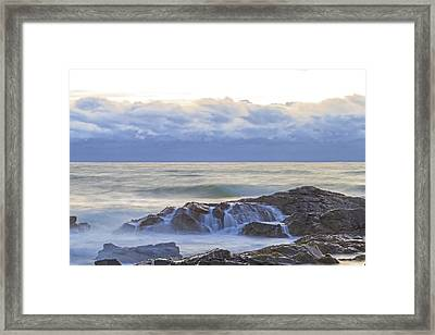 Cloudy Dawn Framed Print