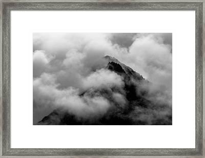 Cloudy Peak Framed Print by Yuri Fineart