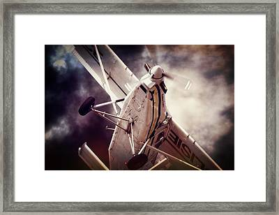 Cloudy Porter Framed Print by Paul Job