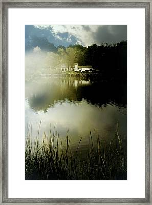 Cloudy Soup Framed Print by Diana Angstadt