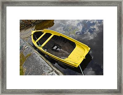 Cloudy Water Framed Print by Charlie Brock