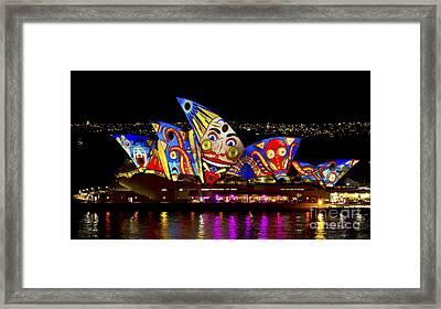 Clown Sails Framed Print by Bryan Freeman