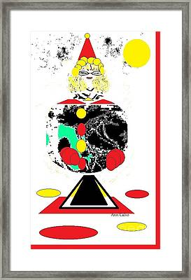 Clowning  Around 2 Framed Print