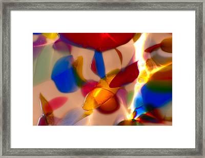 Clowning Around Framed Print by Omaste Witkowski