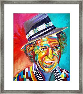 Clowning Framed Print by To-Tam Gerwe