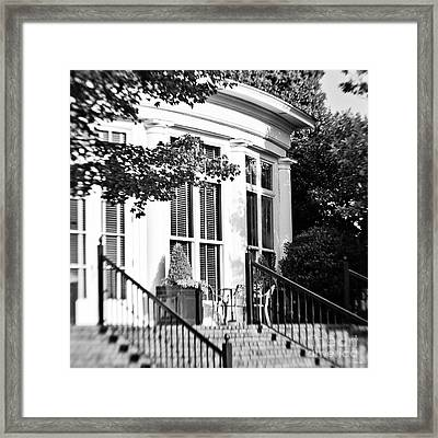 Club House Framed Print by Scott Pellegrin