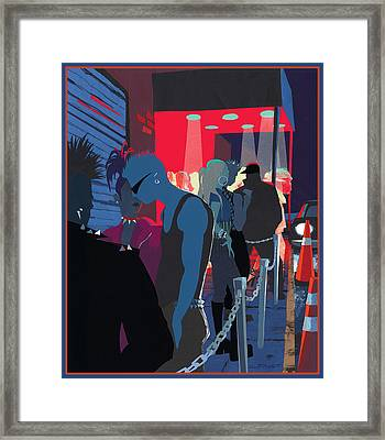 Club Kids Framed Print by Clifford Faust