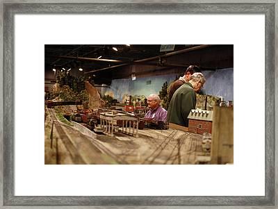 Club Members Framed Print by Hugh McClean