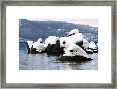 Cluster Island Framed Print by Juan Romagosa