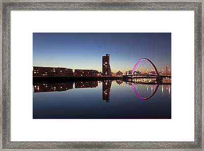 Clyde Arc Bridge Framed Print