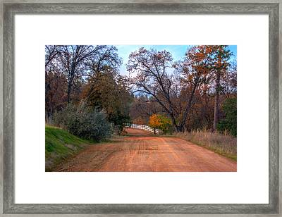 Clydesdale Road Too Framed Print