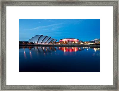 Clydeside Reflected Framed Print