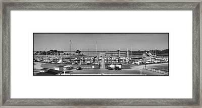Morehead Beaufort Yacht Club Framed Print