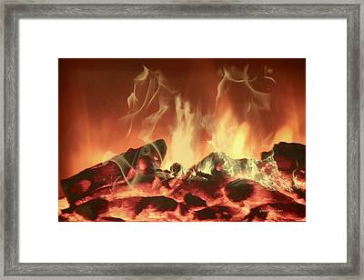 C'mon Baby Light My Fire Framed Print