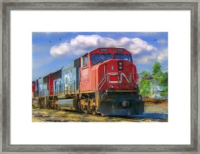 Cn 5707 Framed Print