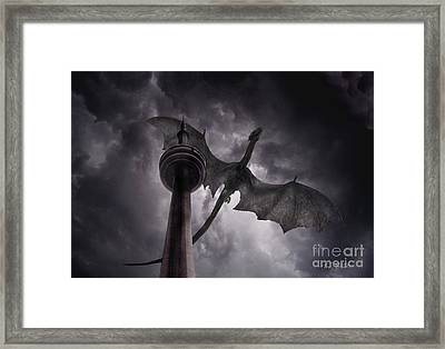 Cn Dragon Framed Print by Tom Straub