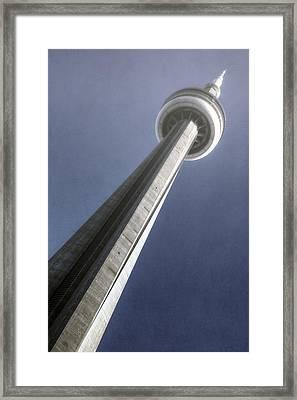 Cn Tower Framed Print by Joana Kruse