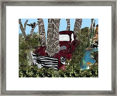 Co2 Framed Print by Michael Bartlett