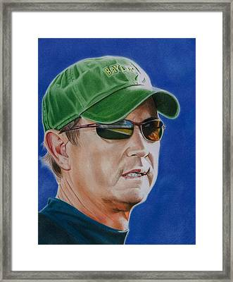 Coach Art Briles Framed Print