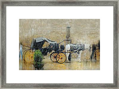 Coach Framed Print by Diana Angstadt