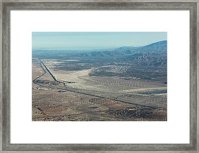 Coachella Valley Framed Print