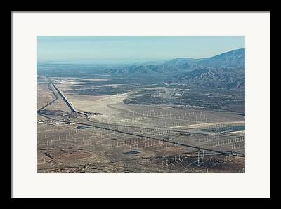 Palm Springs Airport Framed Prints