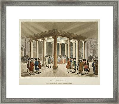 Coal Exchange Framed Print by British Library