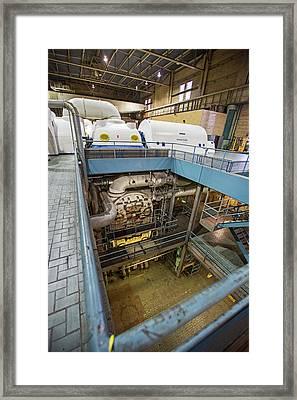 Coal-fired Power Station Turbines Framed Print