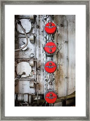 Coal-fired Power Station Valves Framed Print