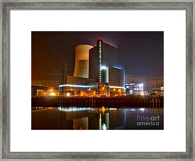 Coal Fired Powerhouse Framed Print by Daniel Heine