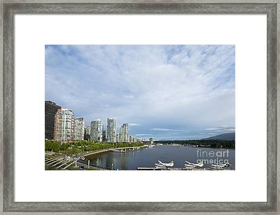 Coal Harbor Framed Print by Ivy Ho