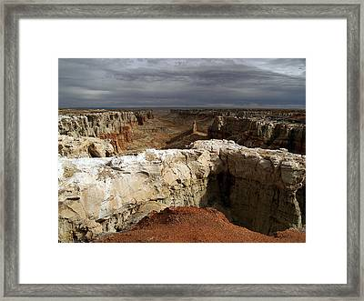 Coal Mine Mesa 08 Framed Print