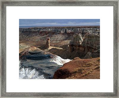 Coal Mine Mesa 09 Framed Print