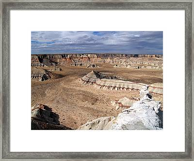 Coal Mine Mesa 11 Framed Print by Jeff Brunton