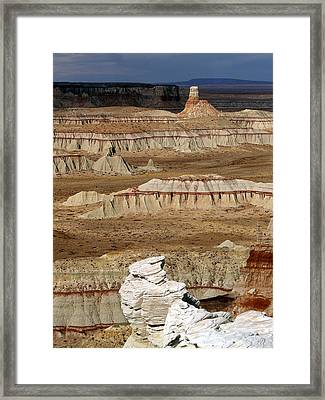Coal Mine Mesa 19 Framed Print