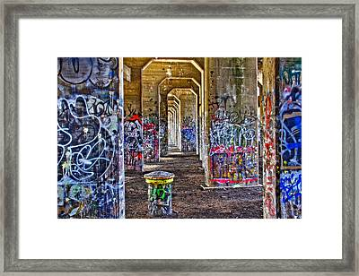 Coal Piers Framed Print by Alice Gipson