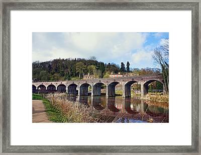 Coalbrookdale Viaduct Framed Print by Paul Williams